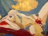 Дарья Багринцева. Red lady. 2012 61х91 х.акр.