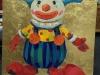 Дарья Багринцева. I'm clown. 2014. х.акр.поталь, 100х100