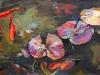 Дарья Багринцева. Golden fishes. 2011. х.акр. 70x150