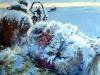 Михаил Копьев. Дорога на север. Протопоп Аввакум х.акрил 90х100 2012