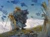 Михаил Копьев. Ветер х.м. 100х130 1994