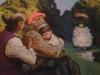 Михаил Копьев. Тебе принадлежащий мир. картон, масло, 90х100, 1993