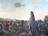 Михаил Копьев. Нагорная проповедь  х.акр. 100х160 2004