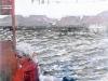 Михаил Копьев. Река. х.м. 40х60, 1995