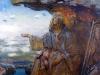 Михаил Копьев. Посвящается святому Апостолу Андрею х.м. 99х129 1996