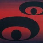 Н.Вечтомов. Овалы. 1981. Б., гуашь