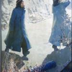 Двое  Карт.М.  1984